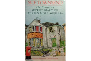 The Illustrated Secret Diary of Adrian Mole Aged 13 3/4  by Sue Townsend