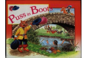 Puss in Boots- pop up book