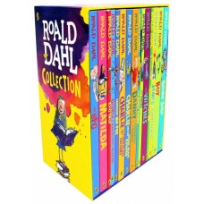 Roald Dahl Collection 15 Books Box Set New Covers