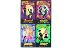 My Brother the Werewolf Collection 4 books set titles in the set Cry Wolf; Puppy Love!; Howl-oween; Tail Spin. by Sienna Mercer
