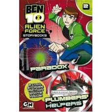 Ben 10 Alien Force Storybook - Paradox, Plumber's Helpers