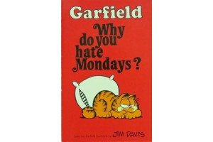 Garfield Why Do You Hate Mondays?
