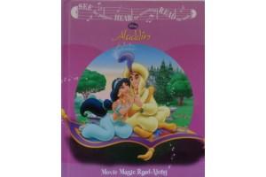 English book Aladdin - Movie Magic Read-Along