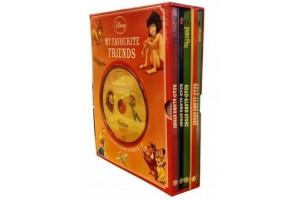 5 Disney Books Box Set With Audio CD  (Disney My Favorite Friends Series)
