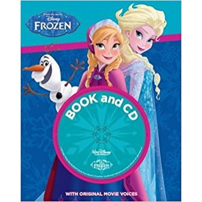 Frozen - Book and CD with original movies voices