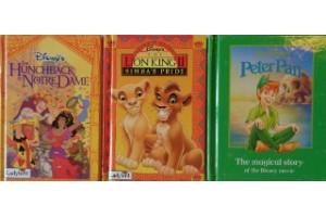 Disney book bundle- Peter Pan, Hunchback of Notre Dame, Lion King II