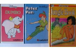 Disney book bundle- Dumbo,Jungle Book,Peter Pan
