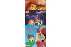 Disney book bundle- Lady and the Tramp, Lion King II, Peter Pan