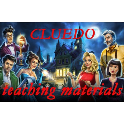 Cluedo teaching materials