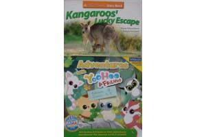 Book Bundle- Adventures with Yoo Hoo, Kangaroos' Lucky Escapes