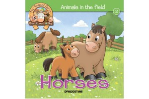 Animals in the Field - Horses