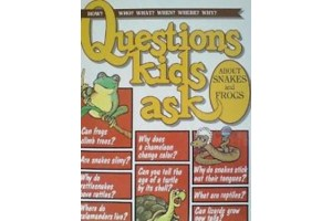 Questions kids ask about snakes and frogs
