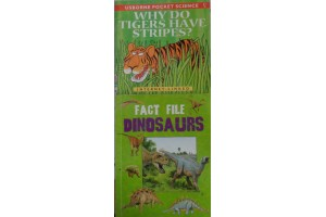 Pocket book bundle: Why do tigers have stripes? / Fact files Dinosaurs