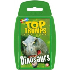 Top Trumps playing cards Dinosaurs