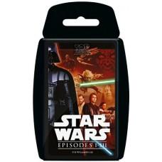 Top Trumps Star Wars episodes I-III