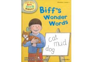 Biff's Wonder Words (Phonics:level 1)
