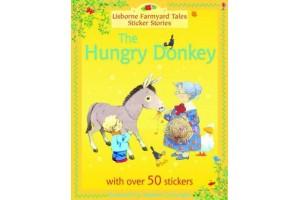 The Hungry Donkey, a sticker story  (Level 3-5)