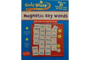 Gold Stars- Magnetic Key words, Ages 4-5 - workbook (Level 1-3)-