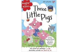 Reading with Phonics-Three Little Pigs (Level 6)