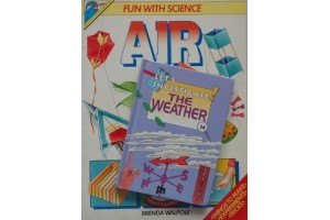Book Bundle, 8- 12 years- Fun with science,  Air - Let's Investigate the Weather