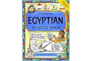 Creative Fun Egygtian Activity Book