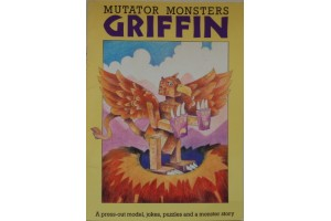 Griffin- Mutator Monsters- press-out model, jokes, puzzles and a story
