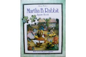 Martha B. Rabbit Jigsaw Book