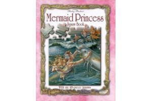 Mermaid Princess Jigsaw Book
