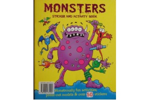 Monsters - sticker and activity book