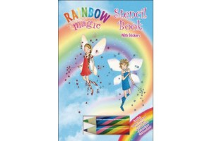Rainbow Magic- Stencil Book