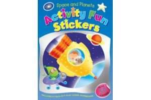 Space and Planets - Activity Fun Stickers