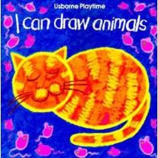 I Can Draw Animals- Usborne books