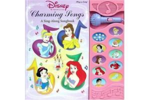 Disney Princess, Charming songs- A sing-Along Book