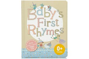 Baby's First Rhymes with bounce-along music CD