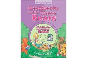 Goldilocks and the Three bears, storybook with CD