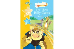 English book The Three Billy Goats Gruff, Story book with audio CD