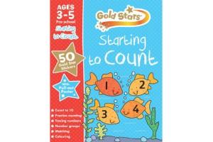 Starting to count, Goldstars preschool workbook