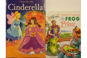 Fairy tales book bundle- 'Cinderella' and 'The Frog Prince'