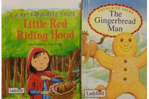 Fairy tales book bundle- 'The Gingerbread Man' and 'Little Red Riding Hood