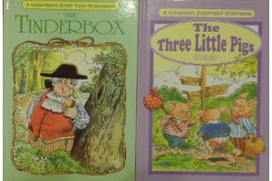 Fairy tales book bundle- 'The Three Little Pigs' and 'The Tinderbox'