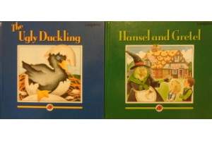 Fairy tales book bundle- 'The Ugly Duckling' and 'Hansel and Gretel'