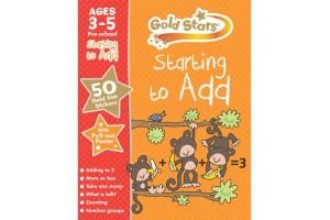 Starting to add, Gold Stars pre-school workbook