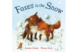 Foxes in the Snow by Johnathan Emmett