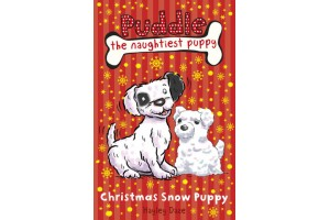 Puddle the naughtiest puppy - Christmas Snow Puppy
