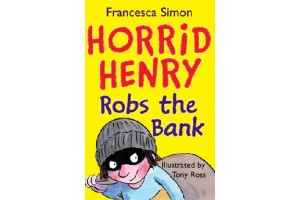 English book Horrid Henry Robs the Bank