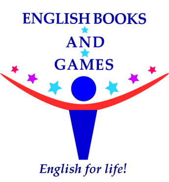 English books and games